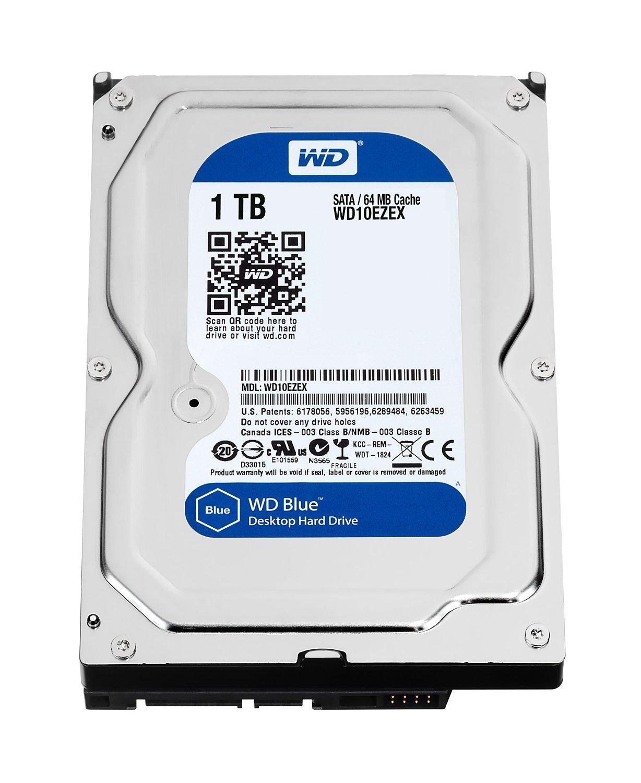 Western Digital WD10EZEX Caviar BLUE HardDisk SATA 1 TB, 64MB...