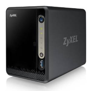 Zyxel NSA325v2 NAS-Server (2-Bay, SATA II, 1x GB Ethernet, USB...