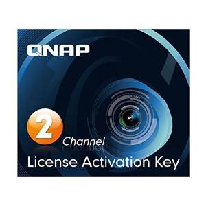 QNAP 2 license activation key for Surveillance Station Pro, LIC-CAM-NAS-2CH...