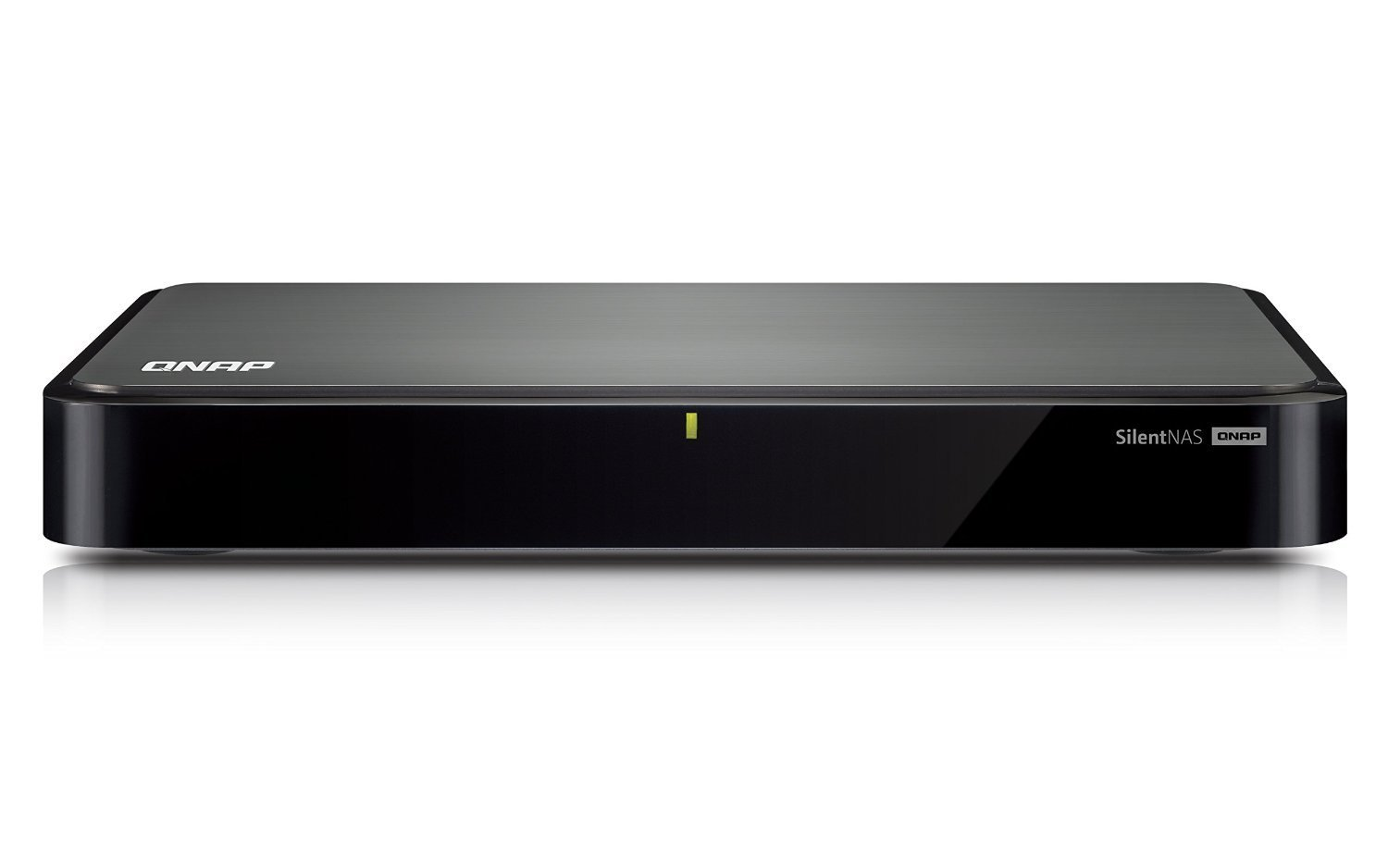 QNAP HS-251 0/2HDD Set-Top Box NAS, Nero