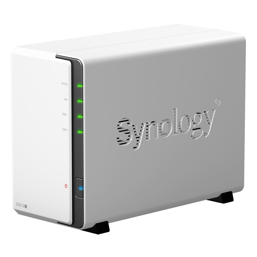 SYNOLOGY Cabinet Rete DS-212J NAS Server