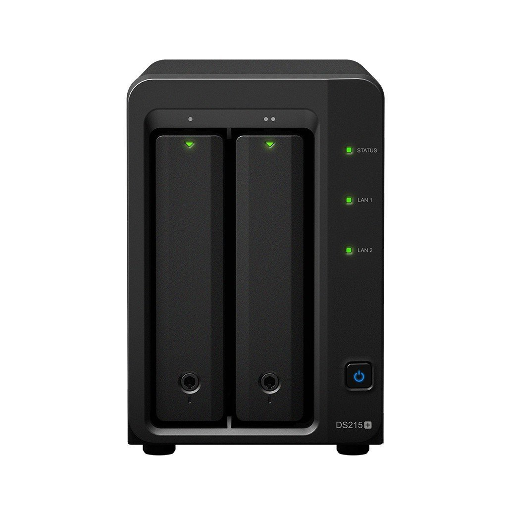SYNOLOGY DiskStation DS215+ 4TB NAS-Server 2-Bay, 2x 2TB Festplatten integriert