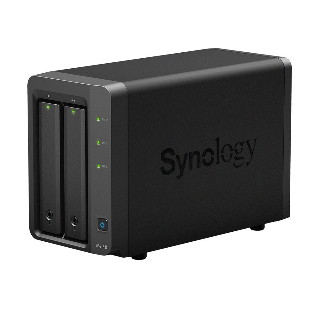 Synology DiskStation DS215+ Server NAS ,Dual Core 1.4 GHz, 1...