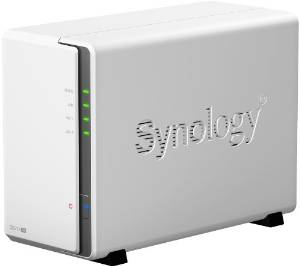 Synology DS214SE NAS, colore: Bianco