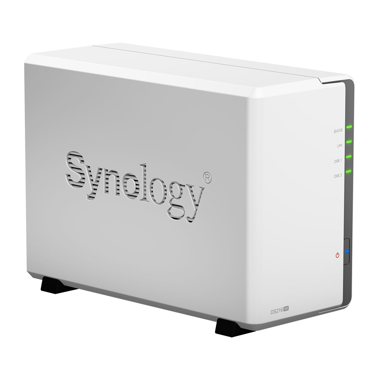 Synology DS216se NAS 0/2HDD, Nero