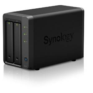 Synology DS715 HardDisk, Quad Core 1.4 GHz, 2 GB DDR3...