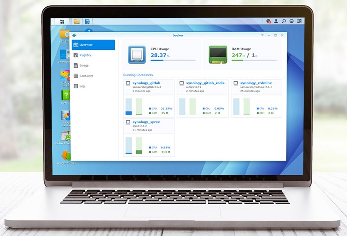 Synology software