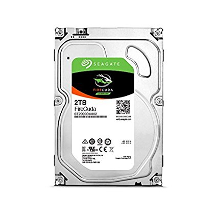 Seagate st2000dx002 HDD Fire CUDA SSHD Disco 2000 GB